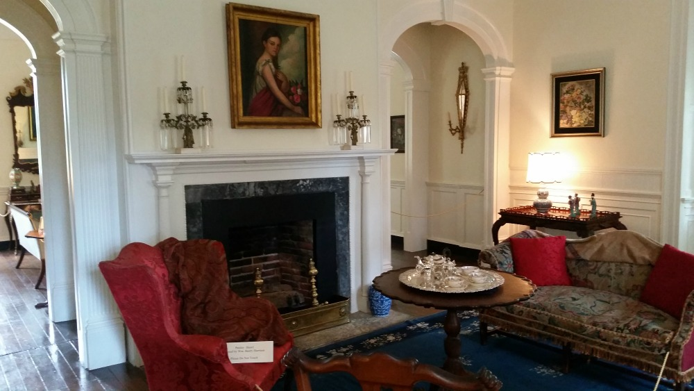 Berkeley Plantation interior