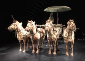 Terracotta exhibit