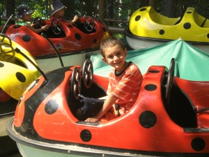 Busch Gardens' Land of the Dragons has many kid-sized rides just perfect for the little ones.