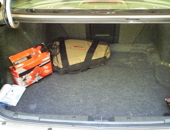The less stuff in your trunk, the better your mileage! Only keep car emergency supplies.