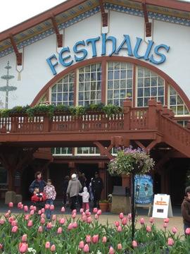 Das Festhaus Busch Gardens