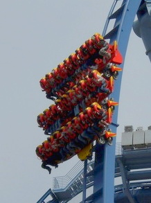 Do you dare ride Griffon at Busch Gardens Williamsburg?