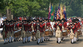 Colonial Williamsburg Fife & Drums. Copyright Sean Teretta