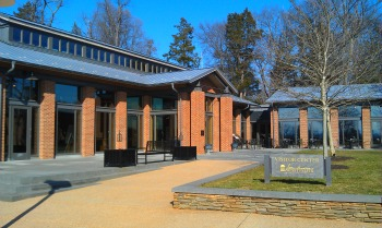 The Visitor's Center at Montpelier has a 10-minute film, gift shop, exhibits, cafe and more.