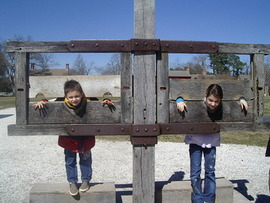 Join a Revolutionary City mob and you could end up in the stocks at Historic Williamsburg!