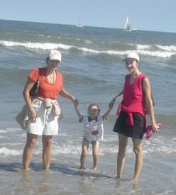 Alex's first visit to Virginia Beach!